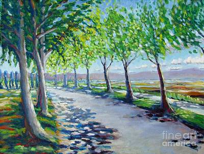 Brookside Road Original by Vanessa Hadady BFA MA