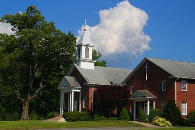 Photograph - Brookstown United Methodist Church 1 by Kathryn Meyer