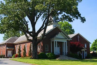 Photograph - Brookstown United Methodist Church 2 by Kathryn Meyer