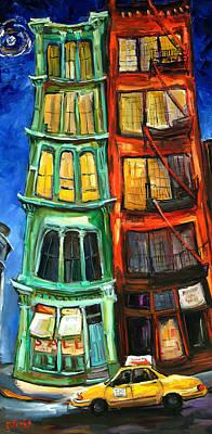 Broome Street Art Print by Carole Foret