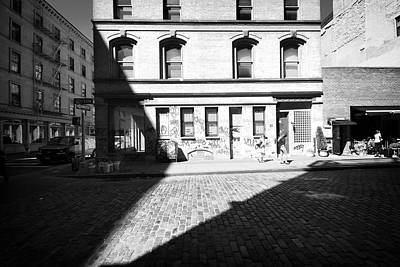Art Print featuring the photograph Broome Street Nyc by Dave Beckerman
