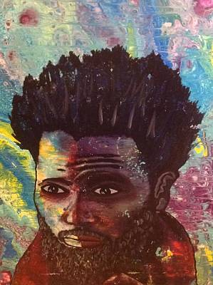 Painting - Brother Man  by Karen Buford