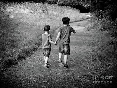 Photograph - Brotherly Love by Lynn Bolt