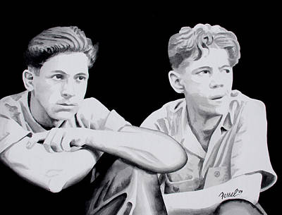 Brothers Art Print by Ferrel Cordle