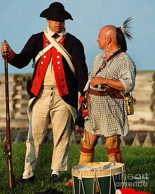 Oneida Painting - Brothers In Arms 1776 by Diane E Berry