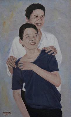 Painting - Brothers by Masami Iida