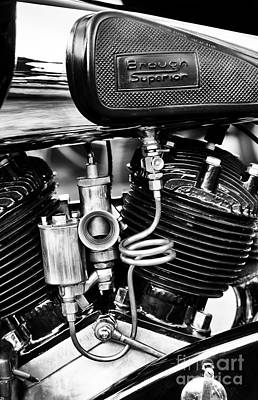 Photograph - Brough Superior Ss80 Carburettor by Tim Gainey