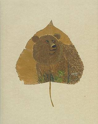 Brow Bear #2 Art Print by Ralph Root