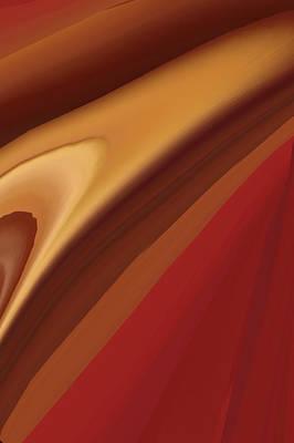 Desktop Digital Art - Brown Abstract  by Art Spectrum