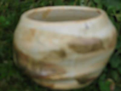 Brown Altered-form Vessel  Original by Julia Van Dine