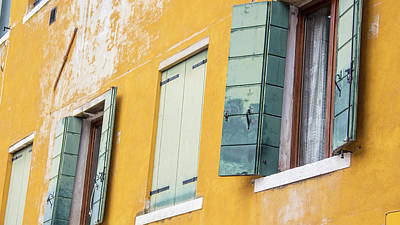 Photograph - Brown And Green Venice Italy  by John McGraw