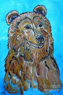 Painting - Brown Bear  by Ella Kaye Dickey