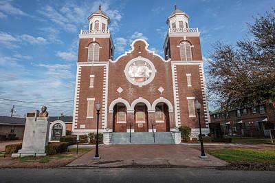 Photograph - Brown Chapel African Methodist Episcopal Church Selma Alabama  by John McGraw