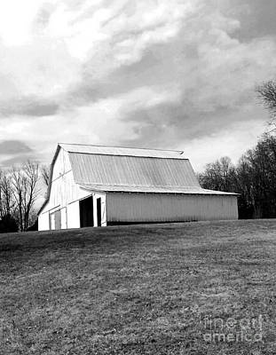 Roofing Tin Photograph - Brown County Indiana Barn by Scott D Van Osdol