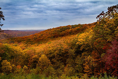 Photograph - Brown County Overlook by Ron Pate