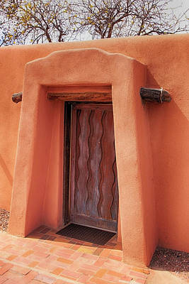 Photograph - Brown Door by Chris Smith