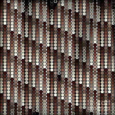 Digital Art - Brown Dot by Lisa Marie Towne
