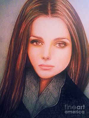 Brown Eyed Girl Original by Veronica Gabriel