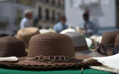 Photograph - Brown Hat  by Douglas Pike