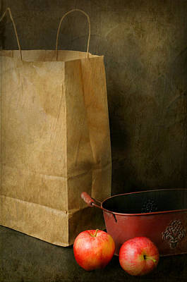 Photograph - Brown Paper Bag by Diana Angstadt