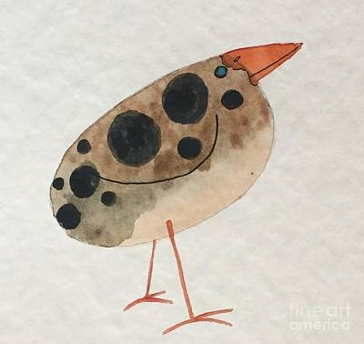 Painting - Brown Spotted Bird by Tonya Henderson