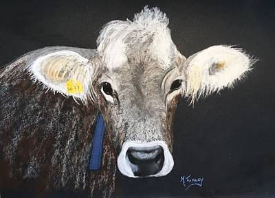 Pastel - Brown Swiss by Michele Turney