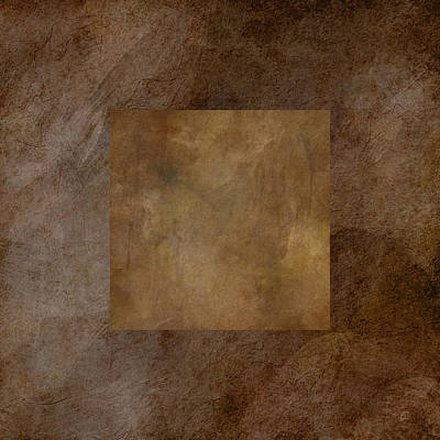 Painting - Brown Wheat Abstract by Jean Moore