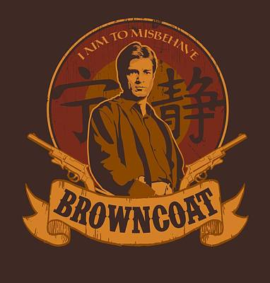 Browncoat Art Print by Mos Graphix