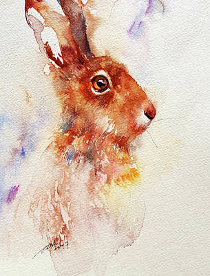 Painting - Brownie Bunny by Arti Chauhan