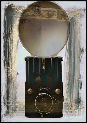 Photograph - Brownie Flash Six-20 by Steven Parker