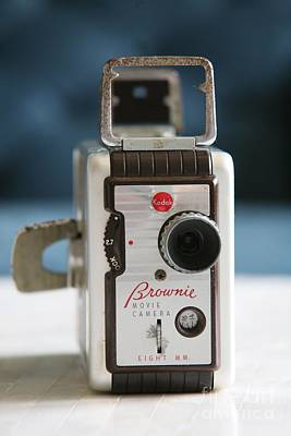 Photograph - Brownie Movie Camera by Lynn England