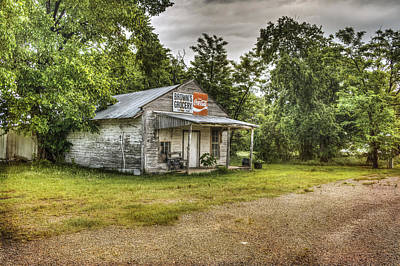 Photograph - Brown's Grocery Store by Lisa Moore