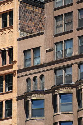 Photograph - Brownstone Buildings In Chi Town by Colleen Cornelius