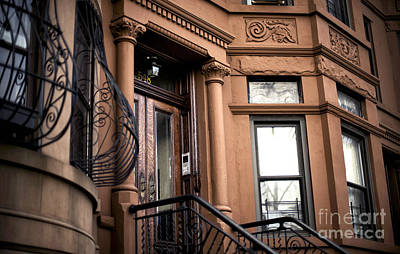 Photograph - Brownstone House by John Rizzuto