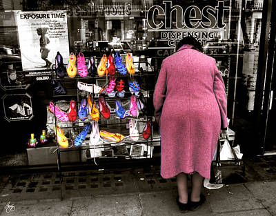 Photograph - Browsing Shoes by Wayne King