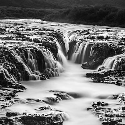 Photograph - Bruarfoss Iceland by Gunnar Orn Arnason