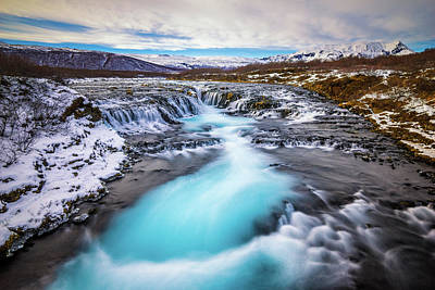 Photograph - Bruarfoss by James Billings