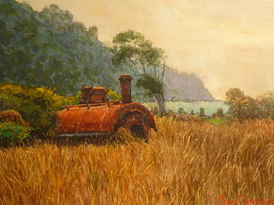 Painting - Bruce Bay South Westland by Terry Perham