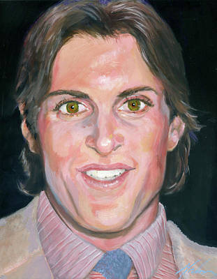 Bruce Jenner Painting - Bruce by Brenda Gordon
