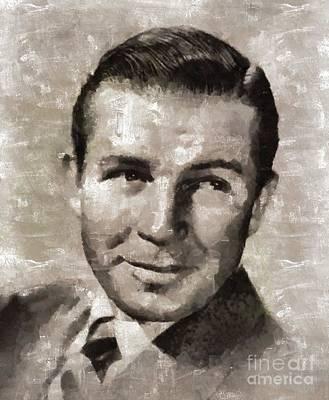 Bruce Cabot, Actor Art Print by Mary Bassett