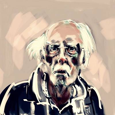 Painting - Bruce Dern by Jim Vance