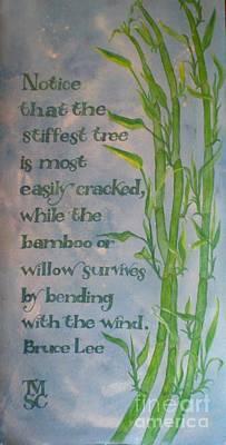 Bruce Lee, Bamboo Quote Original
