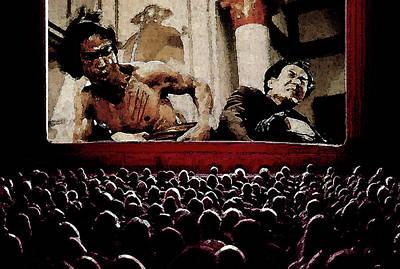 Sumo Digital Art - Bruce Lee by Monday Beam