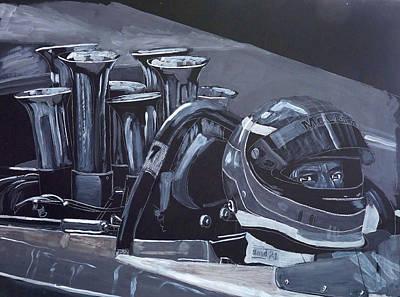 Bruce Mclaren Canam Art Print