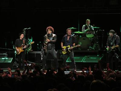 Bruce Springsteen Photograph - Bruce Springsteen And The E Street Band by Melinda Saminski