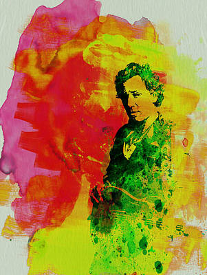 Colorful Painting - Bruce Springsteen by Naxart Studio