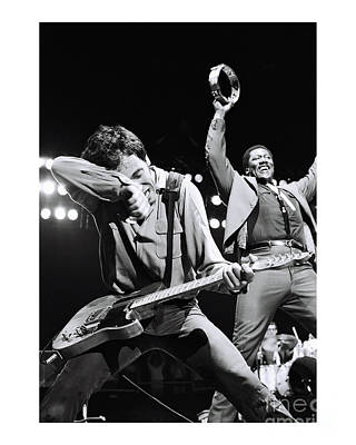 Photograph - Bruce Springsteen Limited Edition by Chris Walter