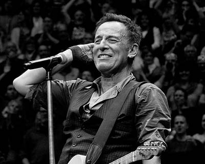 Photograph - Bruce Springsteen - Pittsburgh by Jeff Ross