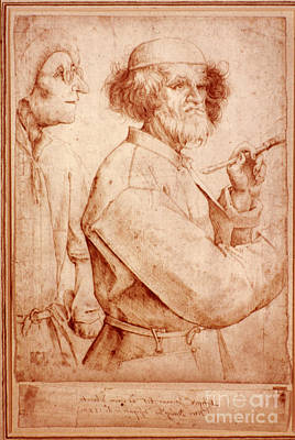 Photograph - Bruegel: Painter, 1565 by Granger