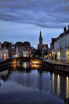 James Bond Photograph - Bruges 02 by James Bond